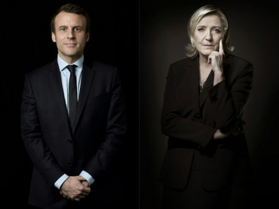 French election results: Macron will face Le Pen in second round head-to-head