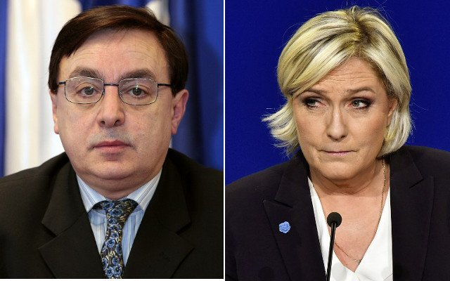Acting National Front chief steps down amid accusations of Holocaust denial