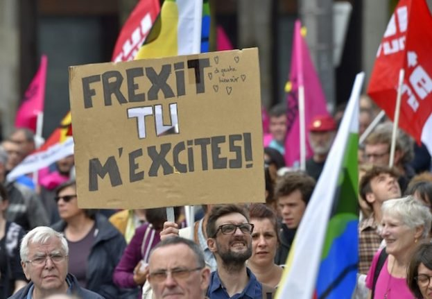 In or out? EU is hot-button issue in French vote