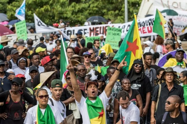 France gives green light to €1bn for French Guiana as demos end