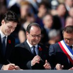 Trudeau leads Battle of Vimy 100-year commemoration in France