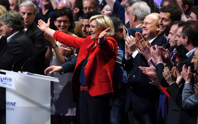 'Give us France back': Le Pen delights frenzied crowd in Paris with anti-immigration speech