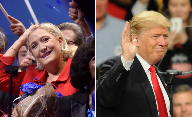 Forget the Russians, are Americans meddling to help boost Le Pen's chances?