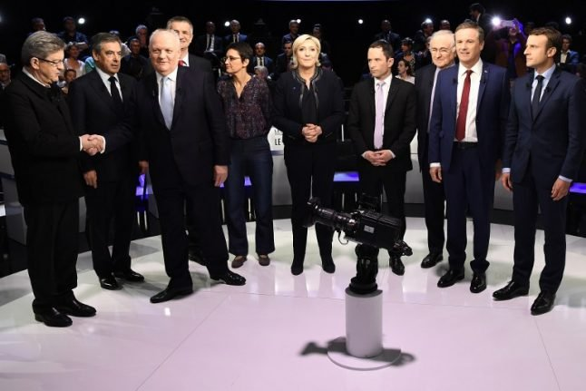Who were the winners and losers in France's mega presidential debate?