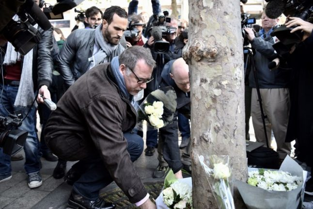 French police mourn Xavier, another colleague killed in the name of terrorism