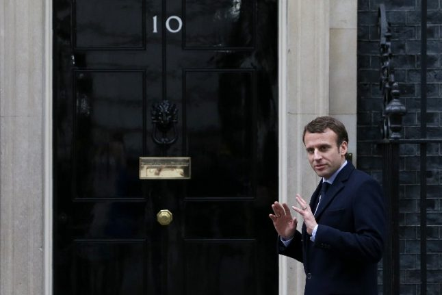 Emmanuel Macron talks Brexit with Theresa May as she calls to congratulate him