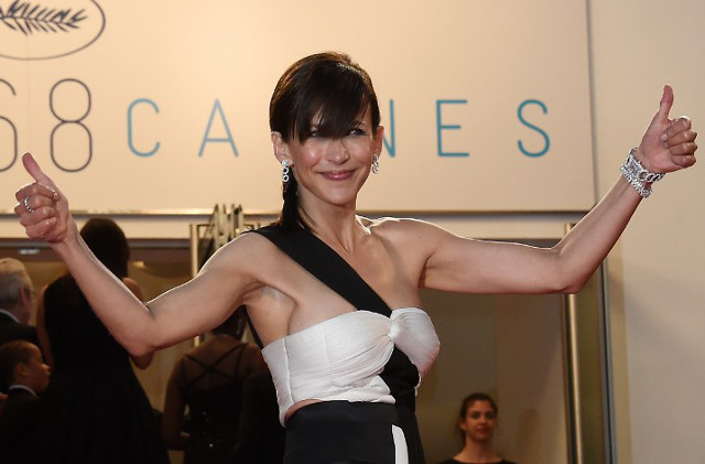 When Cannes stars reveal a little too much on the red carpet, featuring (of course) Sophie Marceau