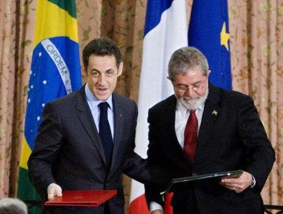 French officials probing Brazil submarine deal: report