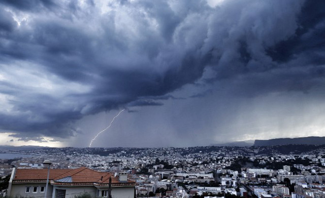 France issues warnings for violent storms and downpours in south west