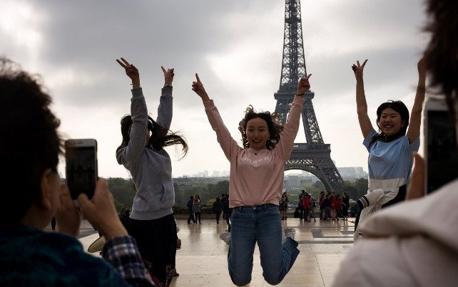 Eiffel Tower knocked off top spot in world's most Instagrammed sites