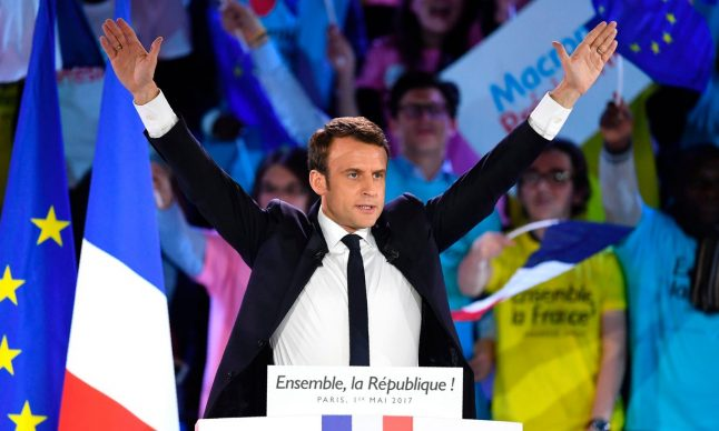 Macron tells French voters democracy is under threat from 'anti-France' Le Pen