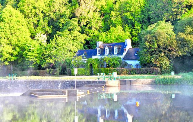 French Property of the Week: Stunning lock house in Brittany with gîte business