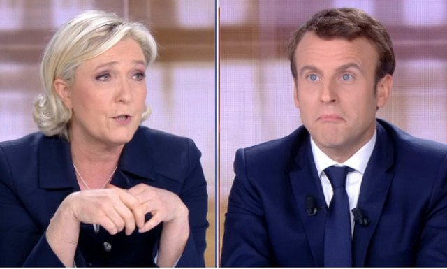 Le Pen and Macron trade insult after insult in fiery final French election debate