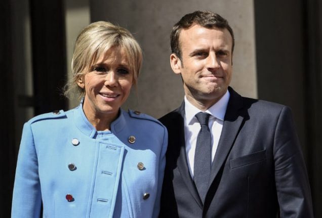 Presidential couple take up residence in the Elysée