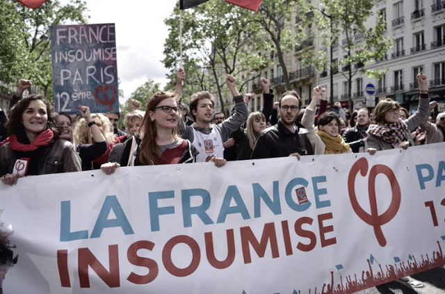 Two-thirds of French far-left supporters won't vote for Macron