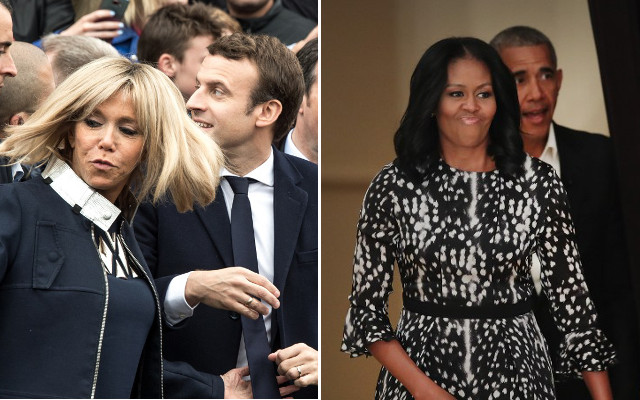 France's 'first lady': Does Brigitte Macron want to be the French Michelle Obama?