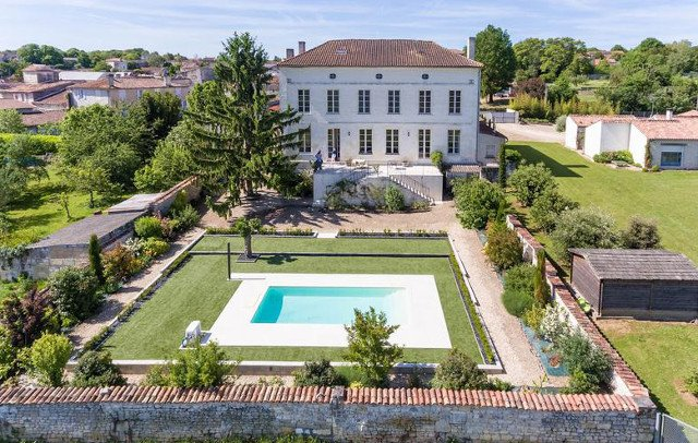 French Property of the Week: Converted village school with a heated pool in Poitou-Charentes