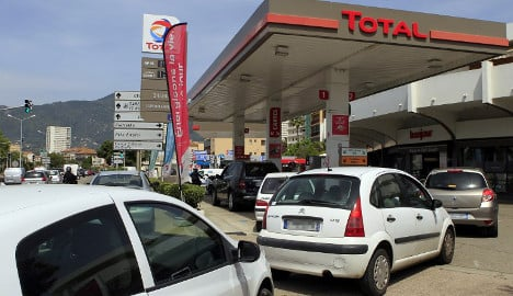 French petrol stations run out of fuel as tanker strike rumbles on
