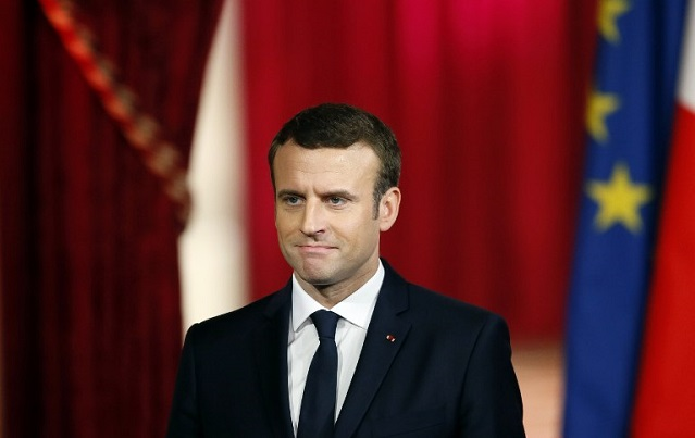 Emmanuel Macron vows to make France feel great again after becoming new president