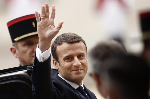 In his own words: The best quotes from Macron's inauguration speech