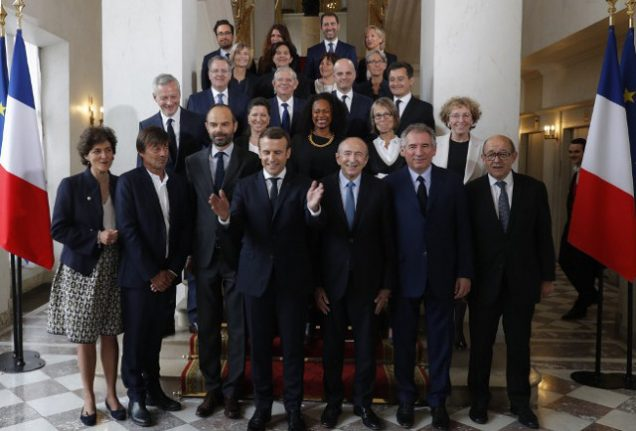 Macron's party stretches lead in polls as new French government meets for first time