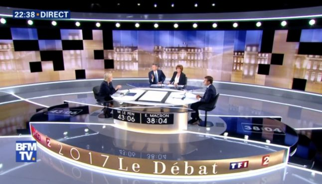 As it happened: Macron and Le Pen repeatedly clash in final French election debate