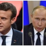 Macron hosts Putin in Versailles in new president's latest diplomatic test