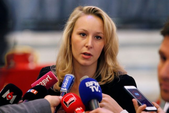 Marine Le Pen's niece stuns National Front by quitting politics 'for some time'