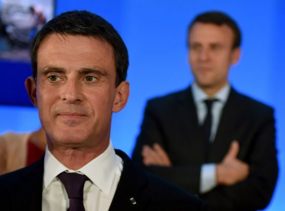 Ex-PM Valls bids to join Macron's revolution... but it's not clear if he's wanted