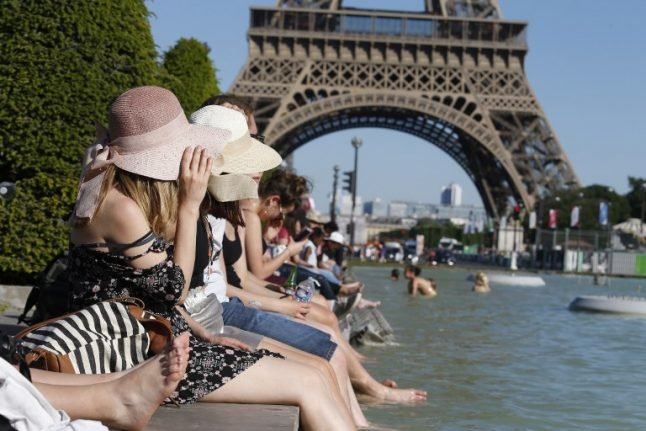 France feels the heat under 'hottest Ascension weekend since 1900'… and there's more to come