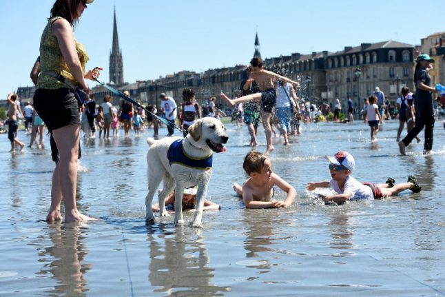 France set for an early summer scorcher with temperatures to top 30C