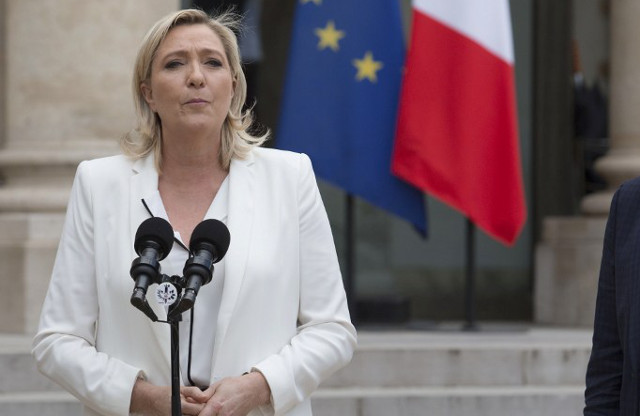 What will happen if Marine Le Pen is elected French president?