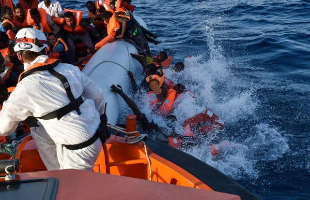 PayPal acts over French far-right group's plan to thwart migrant rescue boats in the Mediterranean