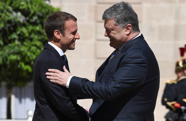 Macron says France will not recognize Russia's Crimea 'annexation'