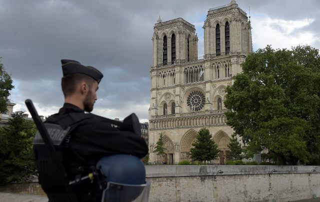 Paris: France says Notre-Dame hammer attack was 'isolated incident'