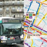 Paris unveils new bus network map for first time in 70 years