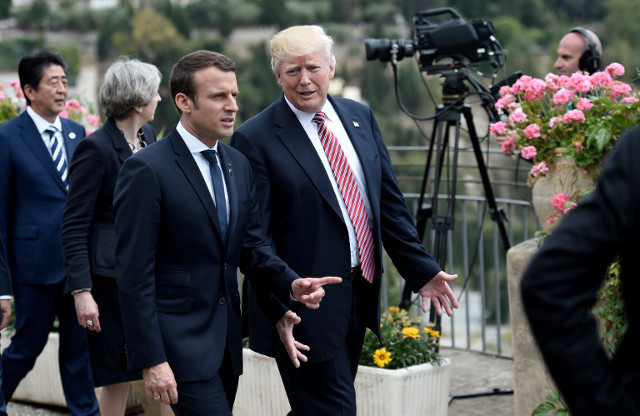 VIDEO: 'Make our planet great again' - Macron rebukes Trump (in English) for ditching Paris climate deal