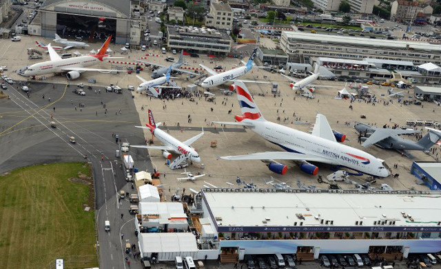 Paris international air show takes off as Airbus and Boeing fight for the skies