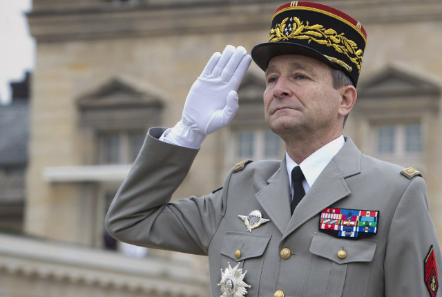Macron comes under fire from all angles after French military chief quits
