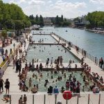 Paris canal pool closed due to 'unsatisfactory' water quality