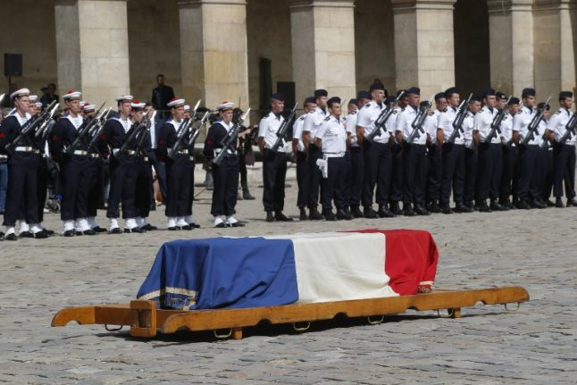 France pays homage to its 'most admired woman' Simone Veil