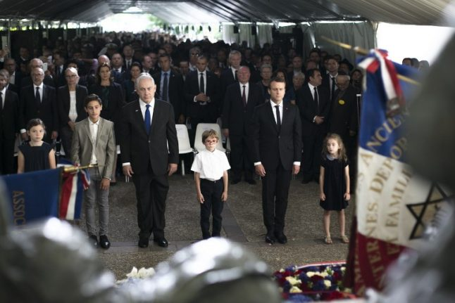 Macron reaffirms France's role in the roundup of 13,000 Jews