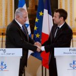 Macron urges Israel and Palestine to resume two-state solution talks