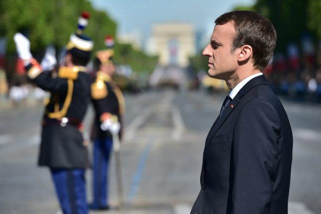 Macron tells Trump 'nothing will ever separate' France and US
