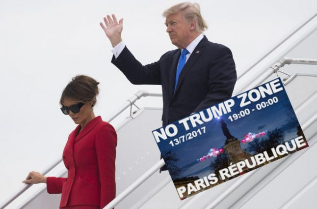 Most French approve of Trump's visit (even after all he's said about France)