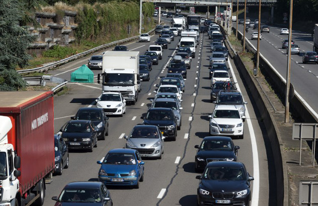 France set for more weekend traffic misery