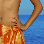 <b>Cover up:</b> Just because it's OK to be topless at some French beaches doesn't mean you can strut around anywhere 'au naturel'. In fact it's even considered bad form to stroll off the beach and into town in your swimming suit. So it's good idea to cover up whenever you leave the sand.Photo: Shutterstock