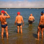 <b>Speedos:</b> At public swimming pools men are obligated to wear this type of skin-tight bathing suit as well as a bathing cap. The idea is apparently to keep the water cleaner. Yet plenty of Frenchmen don't shy away from the old budgie smuggler suit once they hit the shore. Standard-issue swimming trunks are fine too though.Photo: Ian Ramsey Design + Ilustration/Flickr