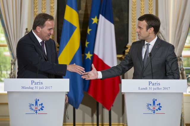 The Swedish model is a 'true source of inspiration': Macron