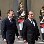 Former French President Hollande criticizes Macron, warns he has 'not retired' from politics